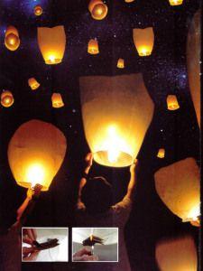 Buenos días!! Iniciamos este día con los globos de luz de nuestro post #innovias de ayer http://innovias.wordpress.com/2014/03/26/ilumina-la-noche-con-los-deseos-de-boda-con-globos-de-luz/