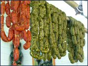 Receta  Chorizo verde estilo Toluca (Mex) enviado por petiso. Chef Uri.