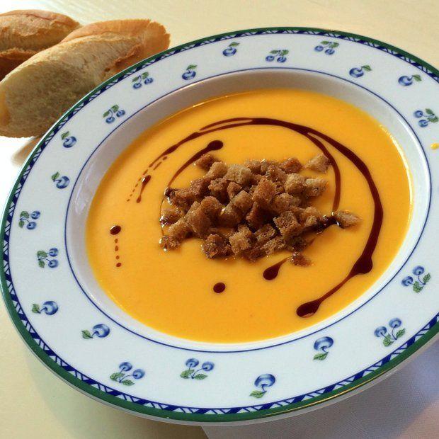 Dýňová polévka s pomerančem z Babiččiny zahrady , Foto: Klára Michalová