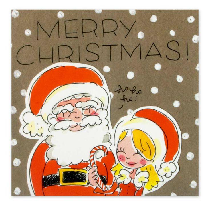 Blond Amsterdam Kerst www.hipenstipkaarten.nl