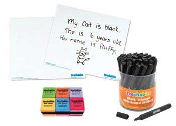 Teachables Write On Wipe Off Whiteboard Kit