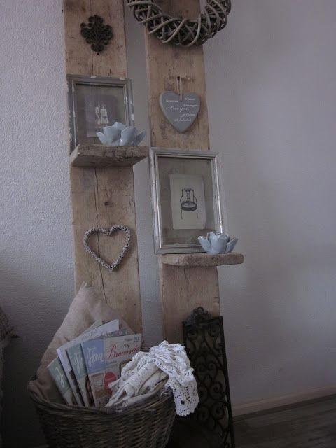 Van oude plankjes/kistjes/pallets te maken