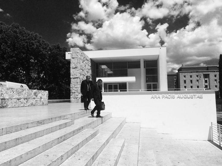 Ara pacis museum, Richard Meier| Rome