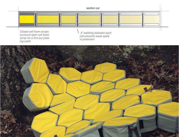 Honeycomb Bouldering Mats : Myriad Crash Pad