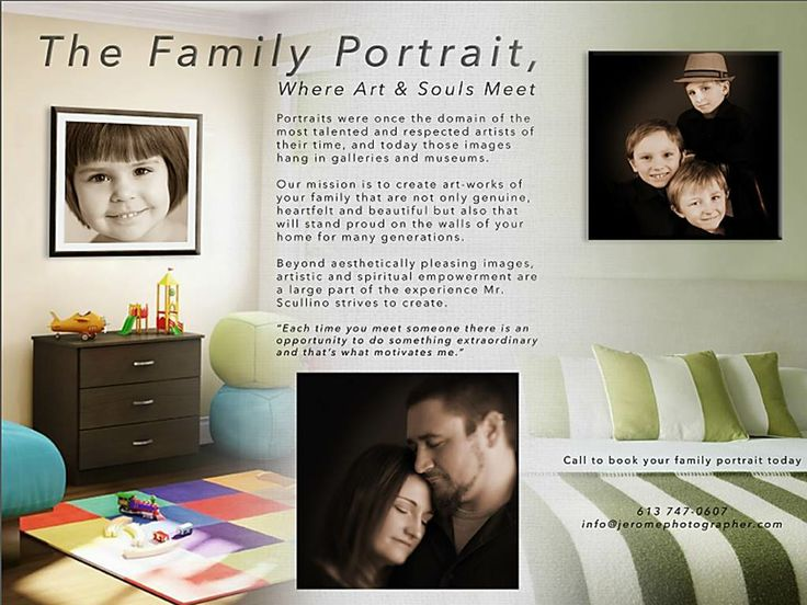 Art - works  of your family  that  are   genuine , heart felt  and  beautiful