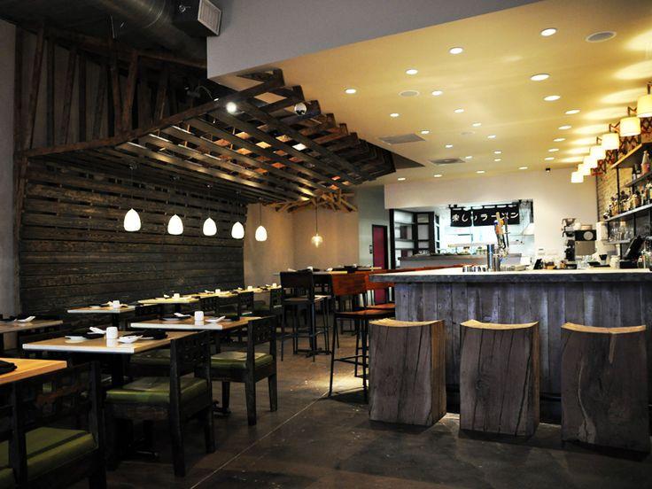 We got to design the very first ramen restaurant in dallas