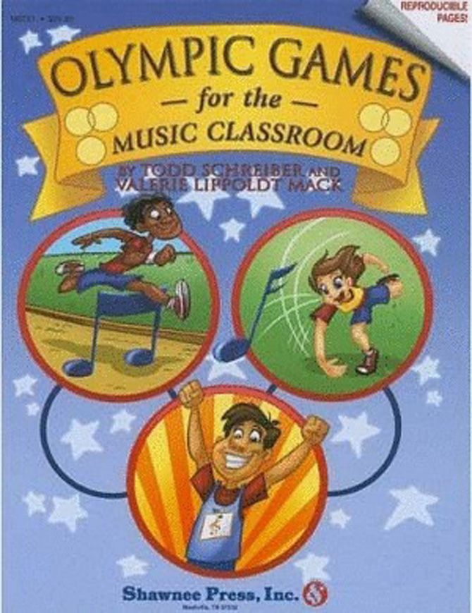 OLYMPIC GAMES FOR THE MUSIC CLASSROOM Paperback