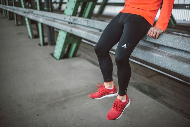 Spodnie: Adidas Techfit Climaheat Tight 2.0 Buty: Adidas Performance Energy Boost 3  #adidas #buty #bieganie #run #running #shoes #sport #style