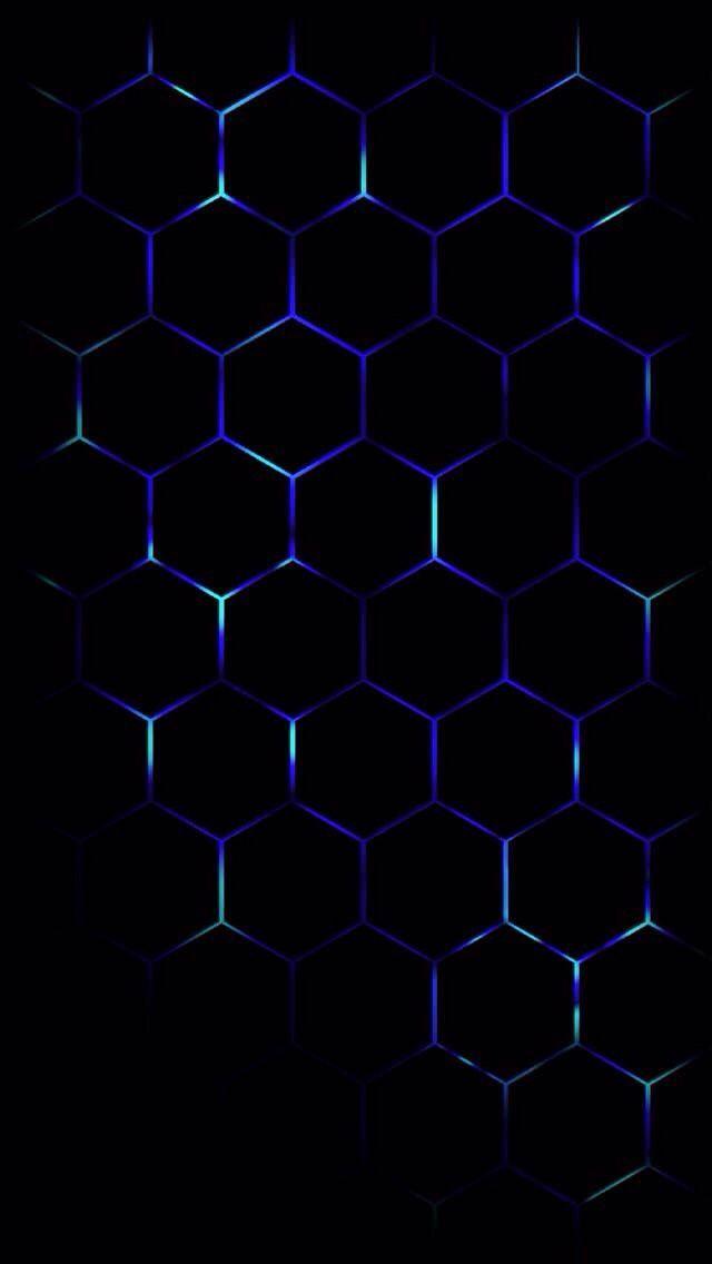 Black Pattern Blue Cobalt Blue Purple Electric Blue In 2020 Black Phone Wallpaper Technology Wallpaper Black Wallpaper