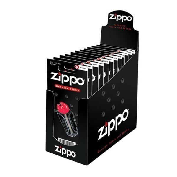 Zippo Flints 24 pack 6 Per Card