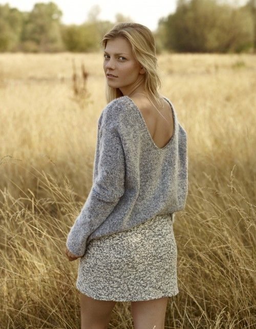 Sweter miękki z dekoltem na plecach | THE ODDER SIDE | SHOWROOM