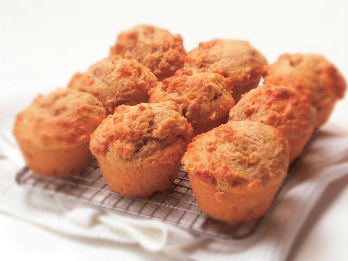 Sweet, moist and simple. What more could you want from a muffin?
