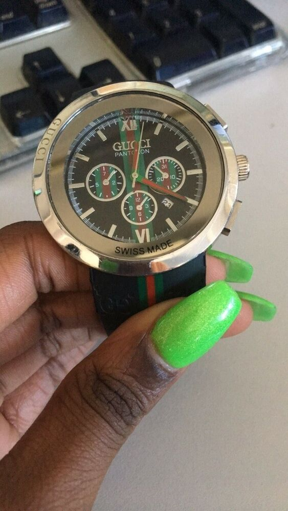 67da2a9e461 gucci watch men used