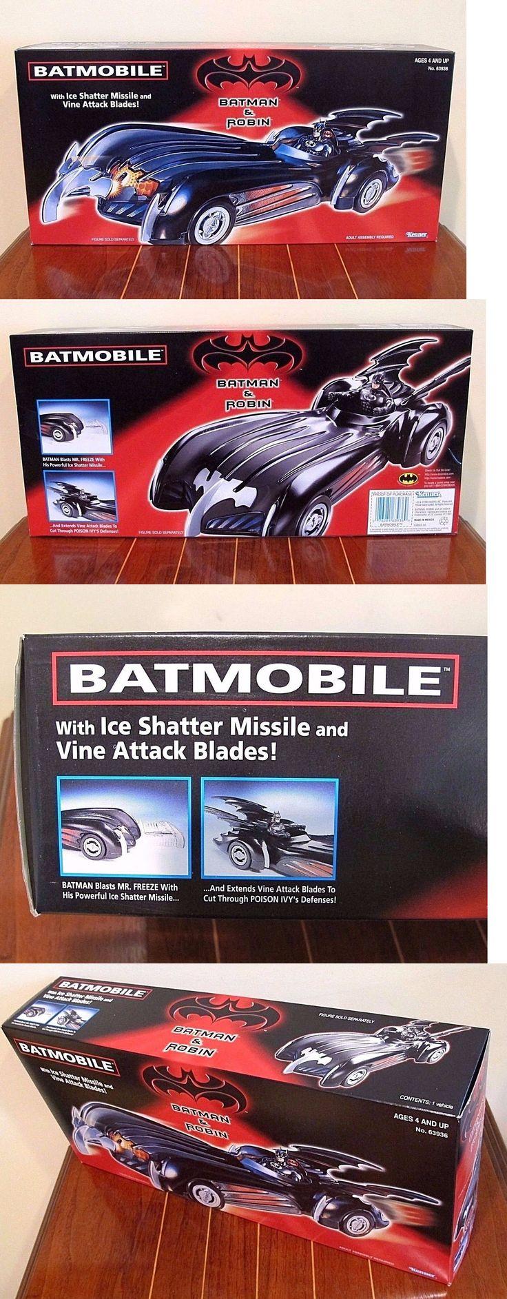Batman 146023: Batmobile Batman And Robin Movie, New! Mib, Sealed, 1997, Kenner -> BUY IT NOW ONLY: $56 on eBay!