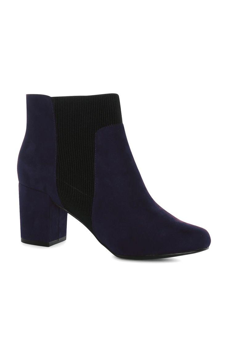Primark - Navy Heel Chelsea Boot