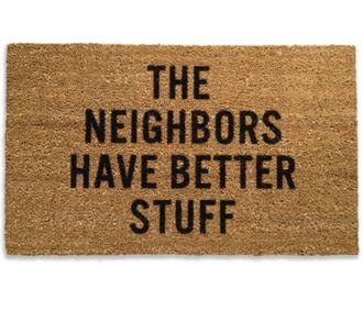 No burglars here!