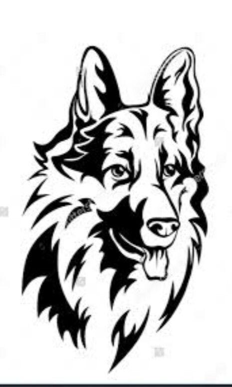 63 besten hunde sch u00e4ferhund applikationen bilder auf