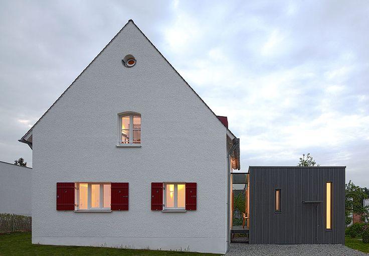 haus z anbau pinterest anbau h uschen und architektur. Black Bedroom Furniture Sets. Home Design Ideas