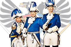 Das Kölner Dreigestirn 2014| Aktuelles | Die Blauen Funken - Das sympathische Traditionskorps