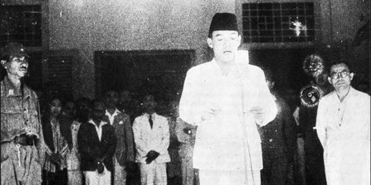 Cerita di Balik Foto Proklamasi Kemerdekaan Indonesia yang Terkenal Ini - Kompas.com