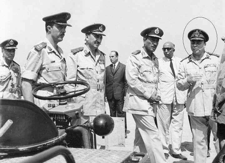 من ابطال الجيش المصري المجهولين في حرب الاستنزاف سيادة اللواء