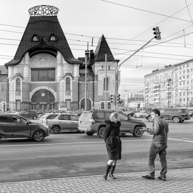 Moscow flirt - Why I love this image