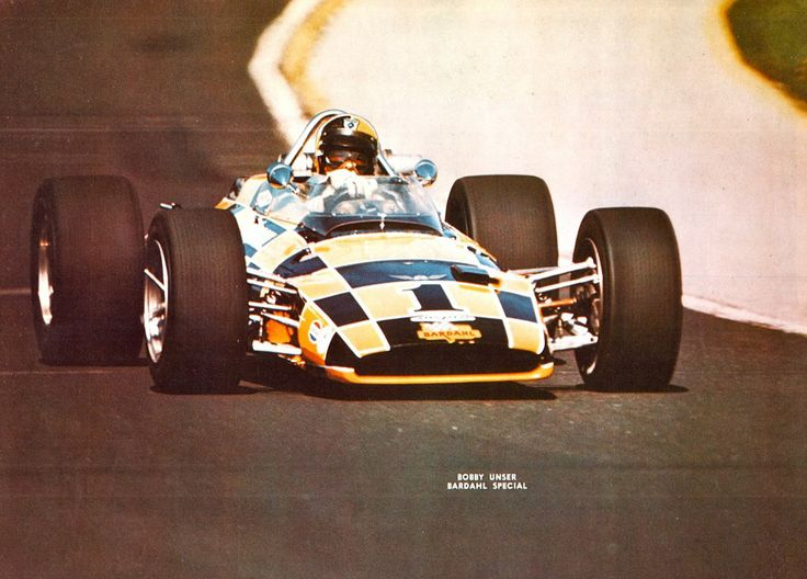 Bobby Unser - Lola T152 Offenhauser - Bob Wilke Racing - International 500 Mile Sweepstakes - 1969 USAC National Championship Trail, round 3