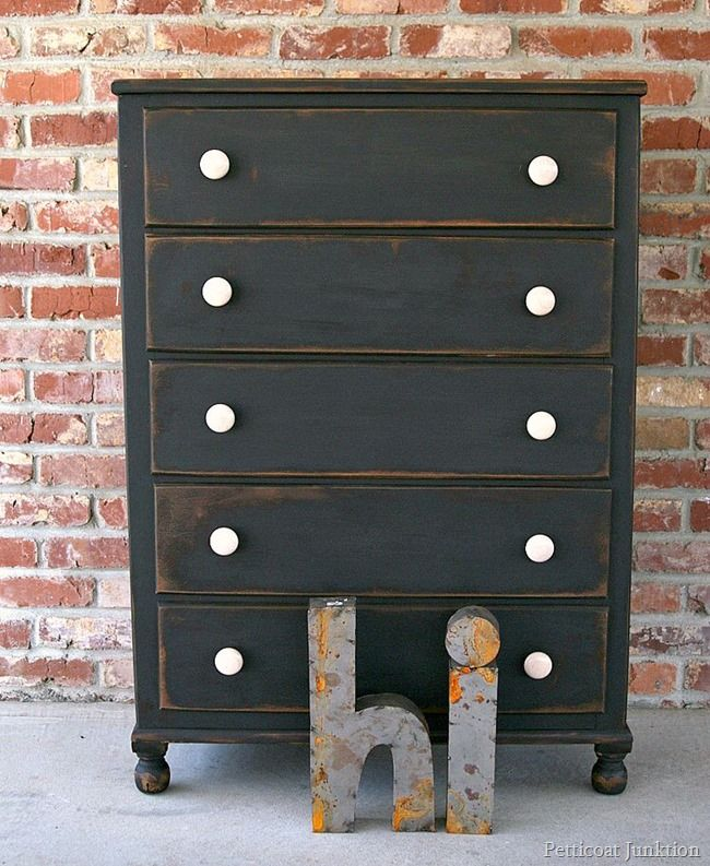 Black Antique Furniture 1424 best black painted furniture images on pinterest | painted