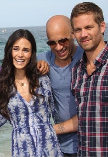 Fast Five cast Vin Diesel, Jordana Brewster & Paul Walker for NBC 'The Today Show' Catumbi, Rio - 13 April 2011