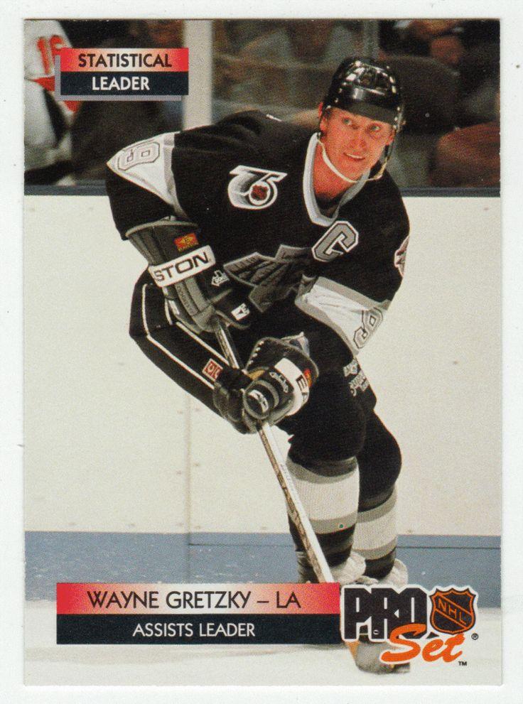 Wayne Gretzky # 246 - 1992-93 NHL Pro Set Hockey