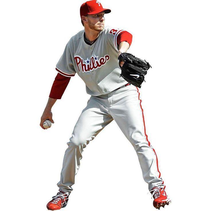 Roy Halladay Fathead MLB Phillies Baseball Wall Accent