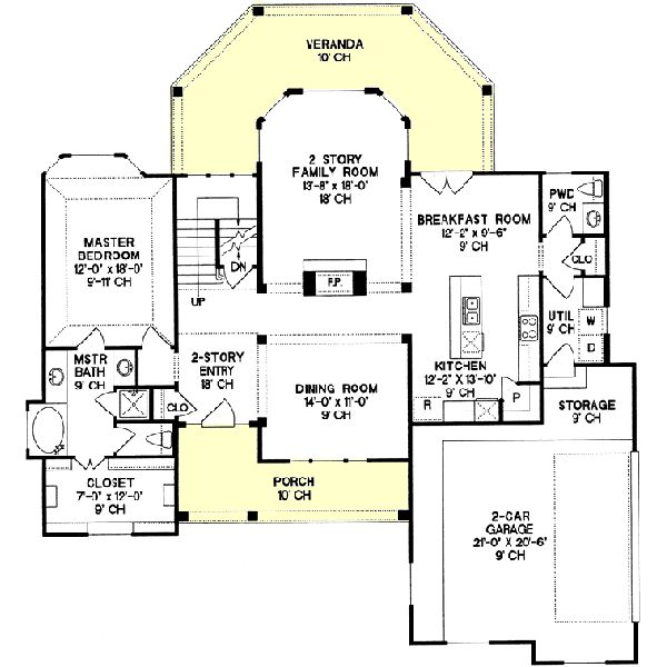18 best floor plans images on pinterest for Three bedroom house plans with bonus room