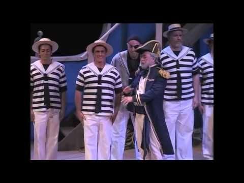 ▶ HMS Pinafore - Wichita Grand Opera - COMPLETE - YouTube