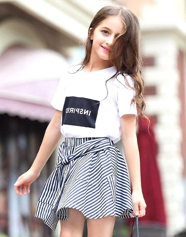 25 Best Inspiring Cute Summer Outfits For Girl Pinmagz Cool Girl Outfits Girl Outfits Cute Outfits For Kids