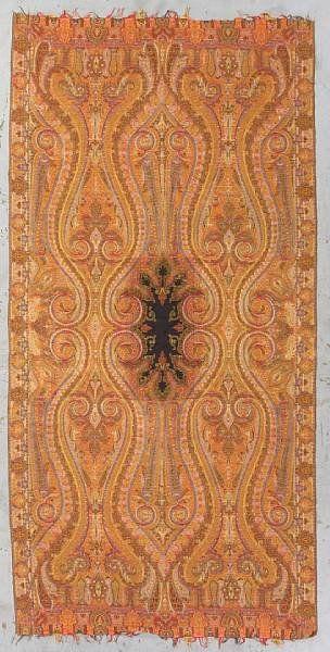 A Kashmiri paisley shawl