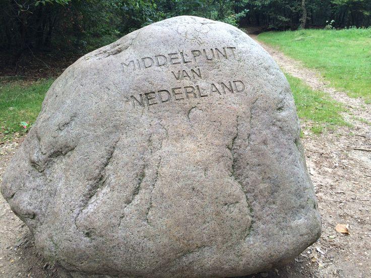 Het middelpunt van Nederland in Lunteren