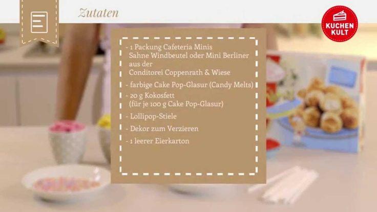 Coppenrath & Wiese – Kuchenkult – Tutorial – Ohne zu backen – Wunderschöne Cake Pops verzieren