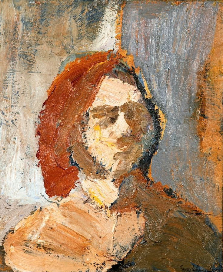 Evert Lundquist 1904-1994. Female Face