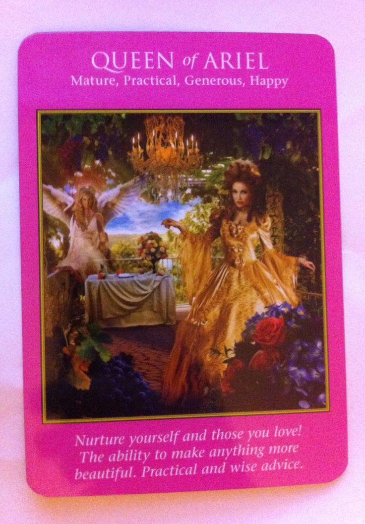 Archangel Power Tarot cards. Queen of Ariel