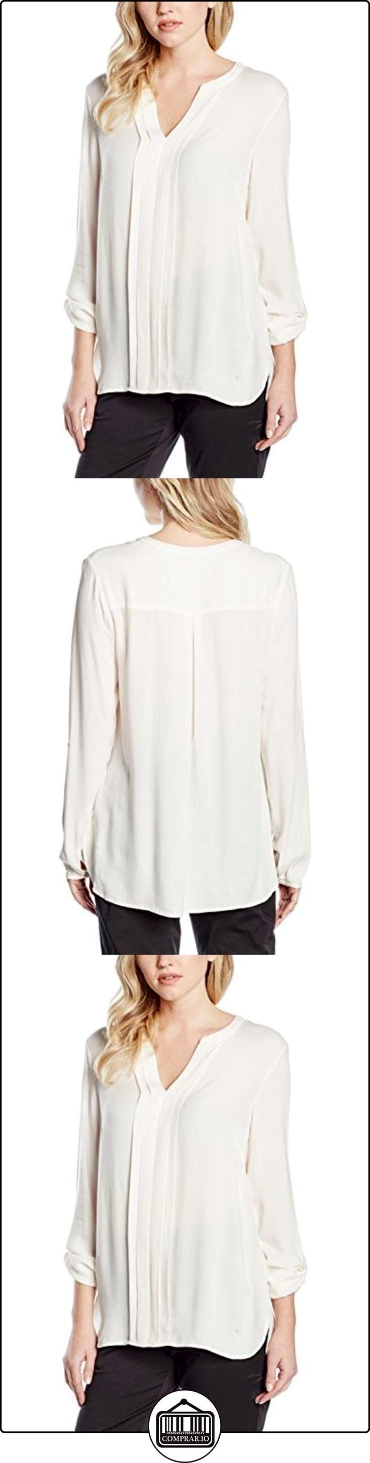Olsen 12001345, Blusa para Mujer, Beige (Pale White 10017ST), 44  ✿ Blusas y camisas ✿