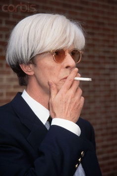 DAVID BOWIE as Andy Warhol in Basquiat 1995.