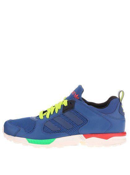 Tenisi albastri barbatesti Adidas