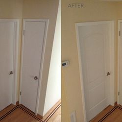 These New Interior Doors Completely Change The Look And Feel Of This  Hallway. The Door