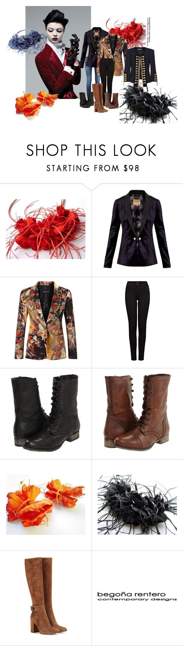 """""""Sophisticated casual"""" by renterodesigns on Polyvore featuring Ted Baker, James Lakeland, J Brand, Steve Madden, Gianvito Rossi, men's fashion y menswear"""