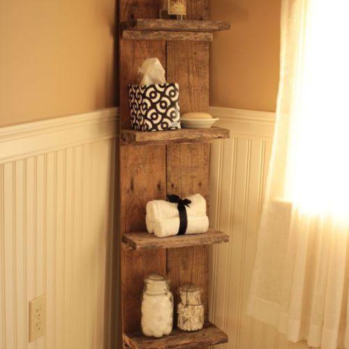 Diy Bathroom Projects Pinterest: 25+ Best Ideas About Pallet Shelf Bathroom On Pinterest
