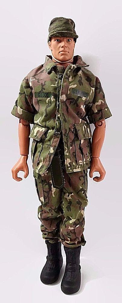 1996 GI Joe Military Action Figure Pawtucket Red Hair w/ Clothing Gun Boots #Hasbro
