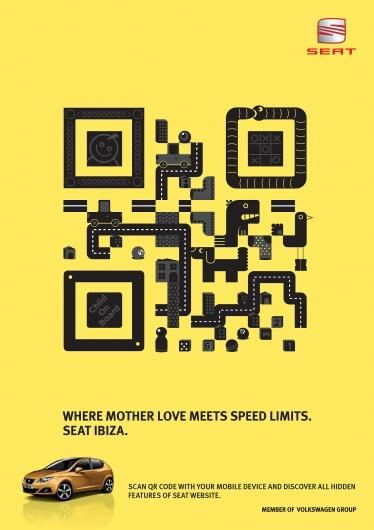 QR Code in advertising