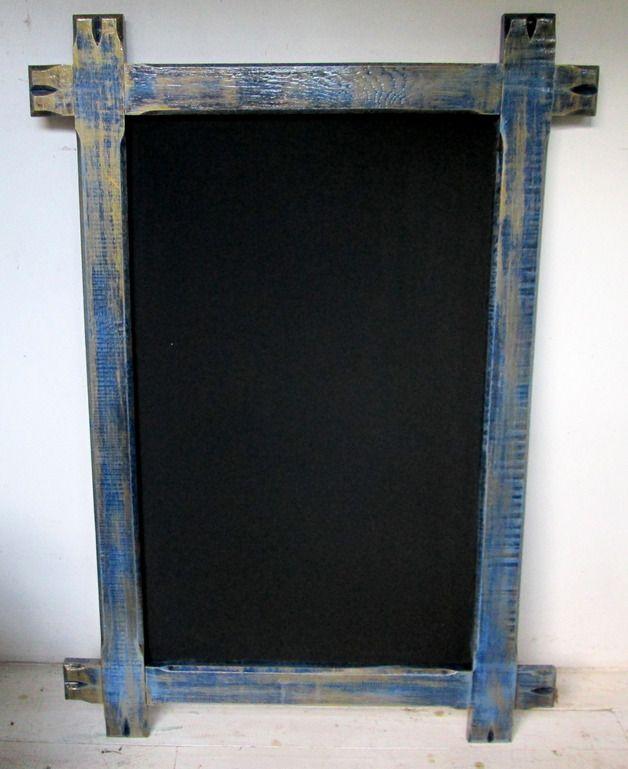 Weiteres - Wand Tafel orientblau-vintage - ein Designerstück von out-of-norm bei DaWanda