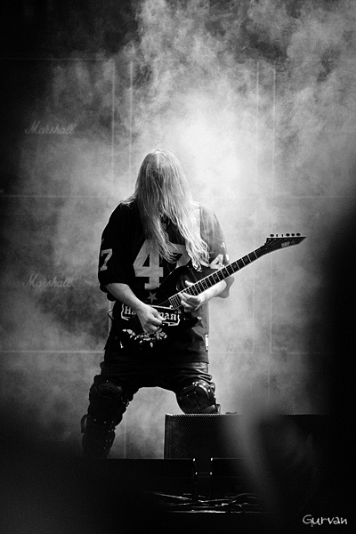 Welcome in Hell Mr. Jeff Hanneman ! 1964 - 2013.  Slayer @ Heavy MTL '08, Montréal, Qc Photo by Gurvan :: More pics @ www.gurvan.com .... ... & ... facebook.com/Gurvan.arts