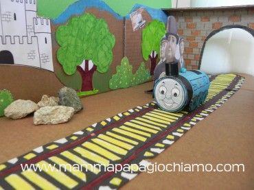 Riciclare, trasformare, raccontare: Il nostro Trenino Thomas in azione!